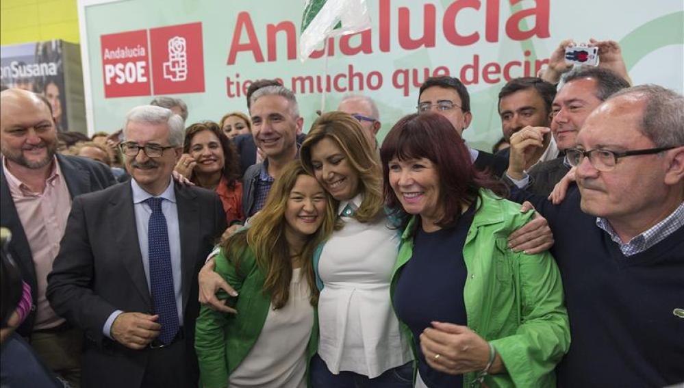 Susana Díaz afirma que va a gobernar en solitario