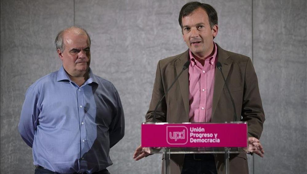 De la Herrán con Gorriarán, UPyD