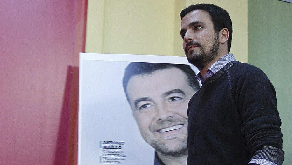 Alberto Garzón, tras las elecciones en Andalucía