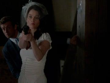 Atrapar al asesino juntos, el regalo de boda de Patrick y Teresa