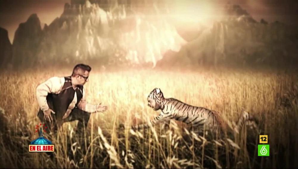 Buenafuente y Ponce hacen el videoclip de Edurne