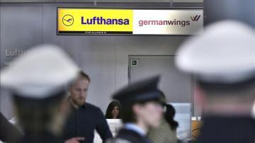 Mostrador de Lufthansa y Germanwings