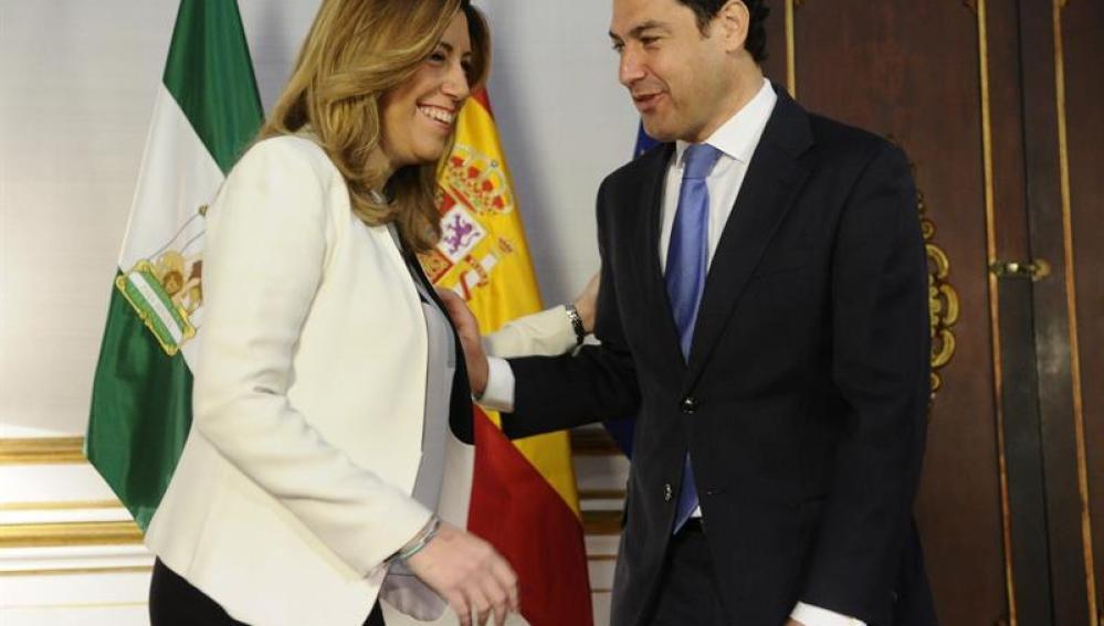 Susana Díaz con Moreno Bonilla