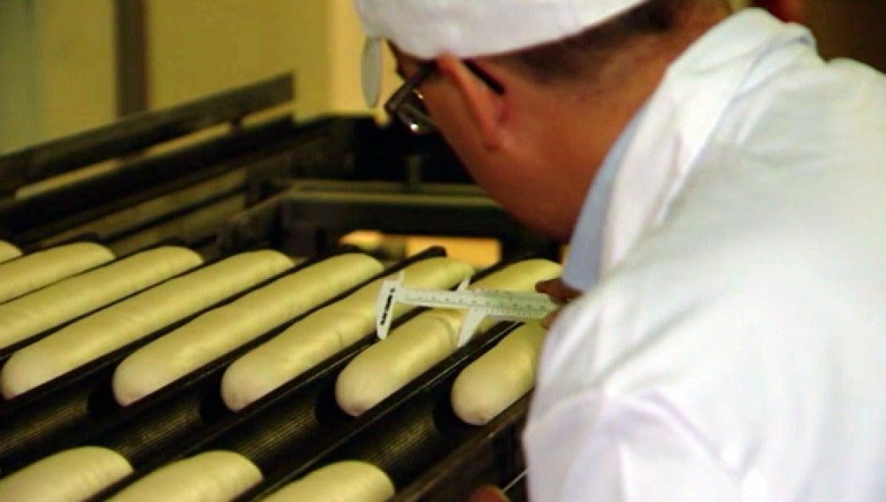 Fábrica de pan congelado