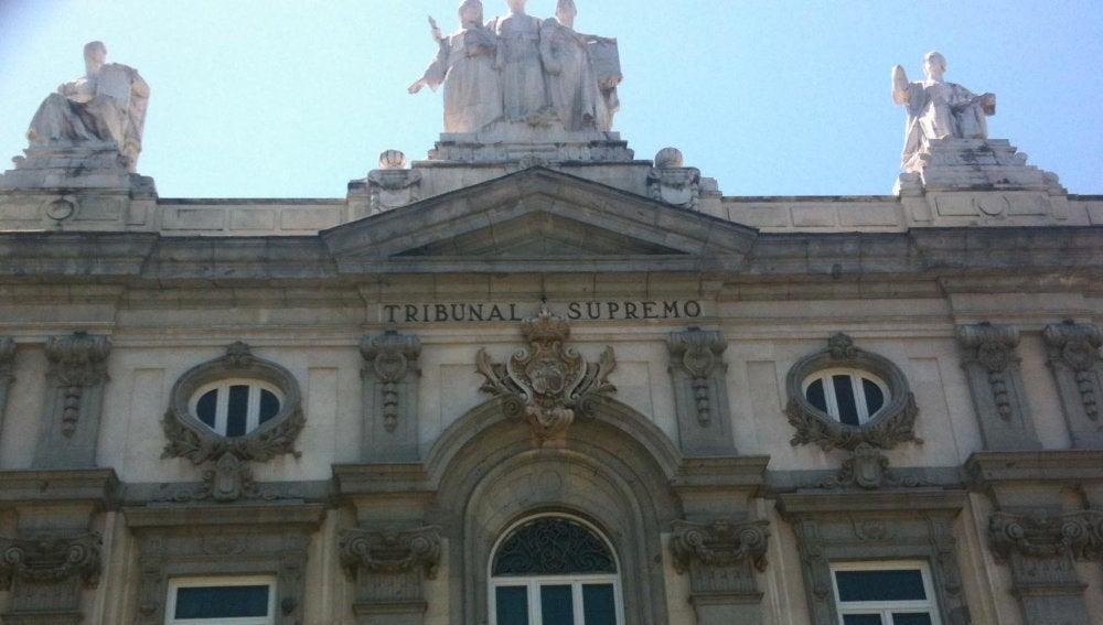 Imagen de la fachada del Tribunal Supremo