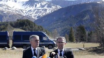 Los presidentes de Lufthansa y Germanwings
