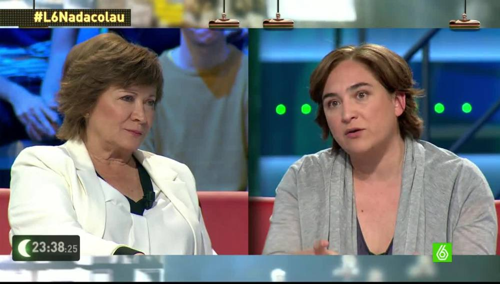 "Ada Colau: ""Como alcaldesa, no voy a dar motivos para que se me hagan escraches"""