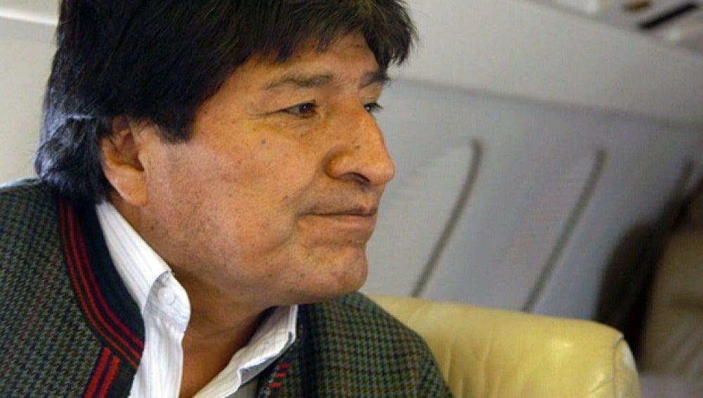 Evo Morales, en 'Salvados'