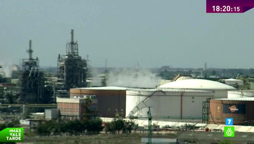 Alerta en la petroquímica de Tarragona por altos niveles de Butadieno