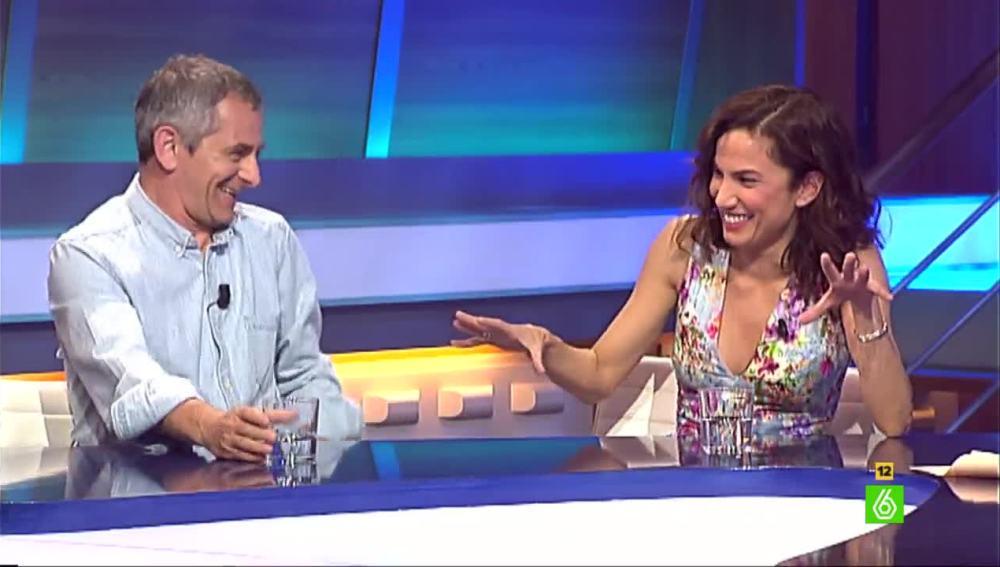 Iñaki Miramón y Toni Acosta