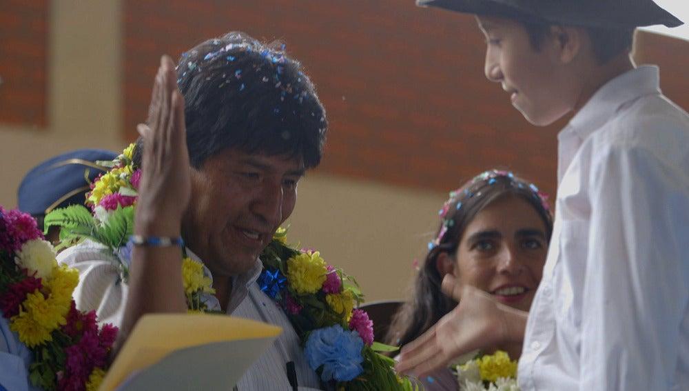 Evo Morales, en Salvados