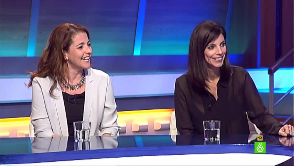 Nora Navas y Maribel Verdú