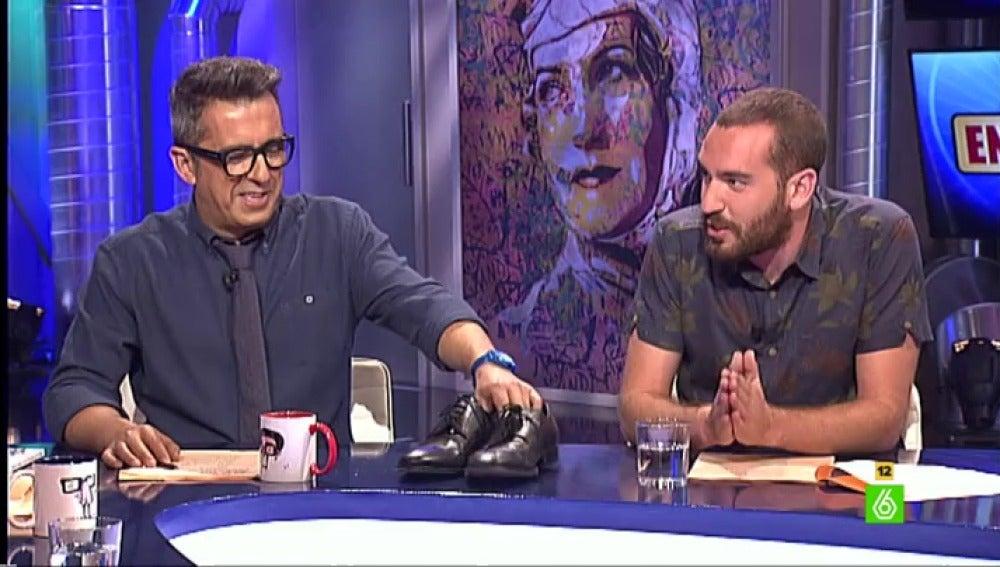 Andreu Buenafuente y Jorge Ponce en En el Aire