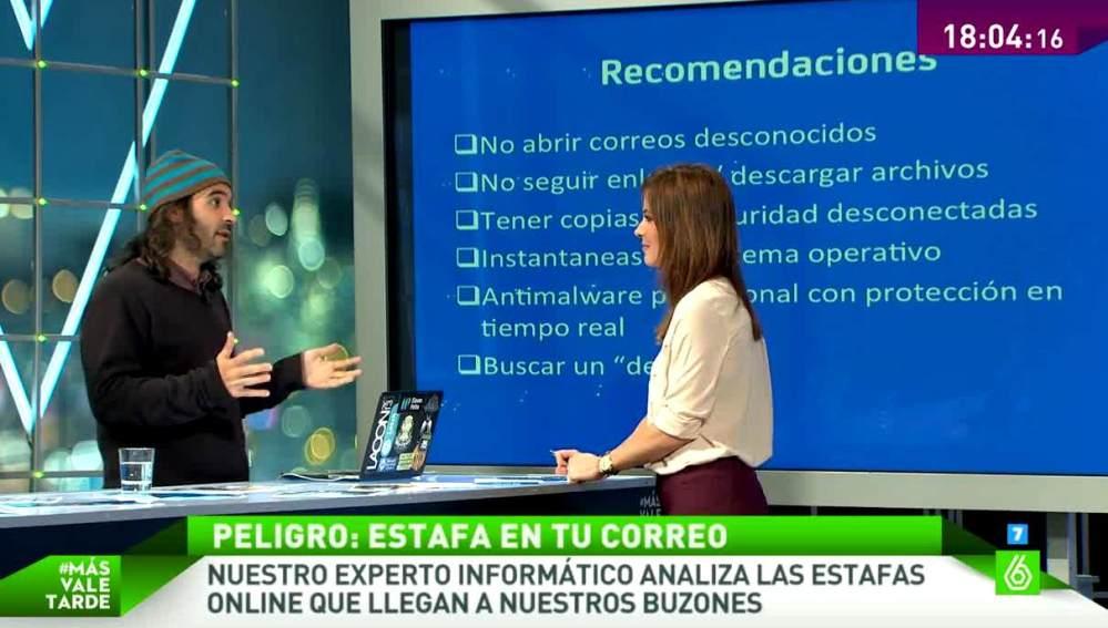 Chema Alonso habla con Mamen Mendizábal
