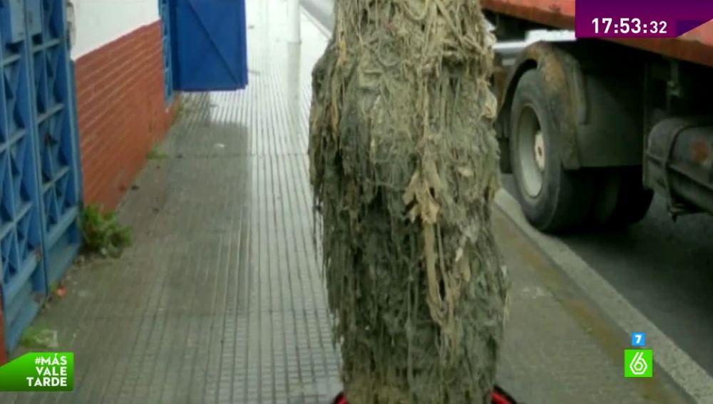 Monstruo de toallitas