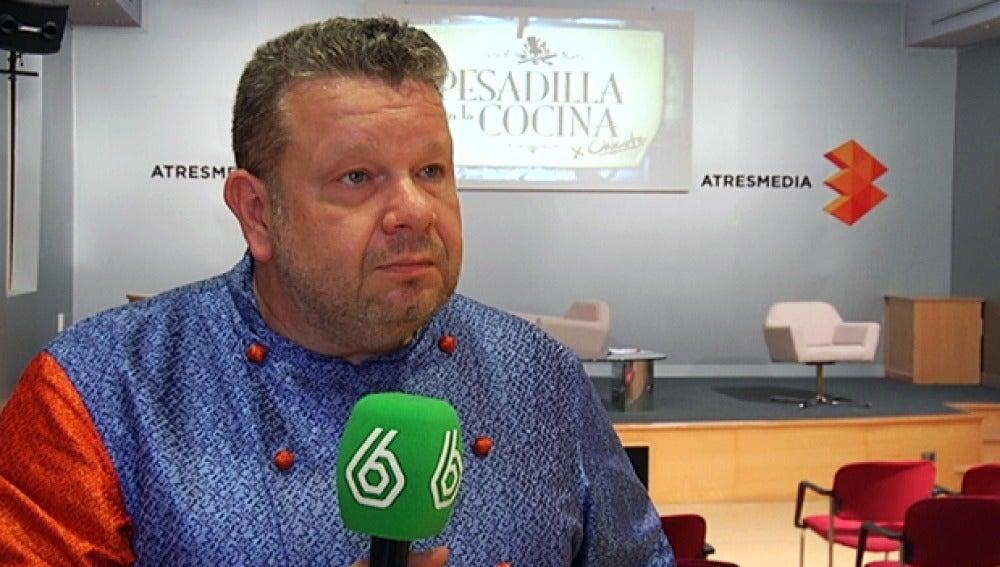 Entrevista a Alberto Chicote por la cuarta temporada de 'Pesadilla en la cocina'
