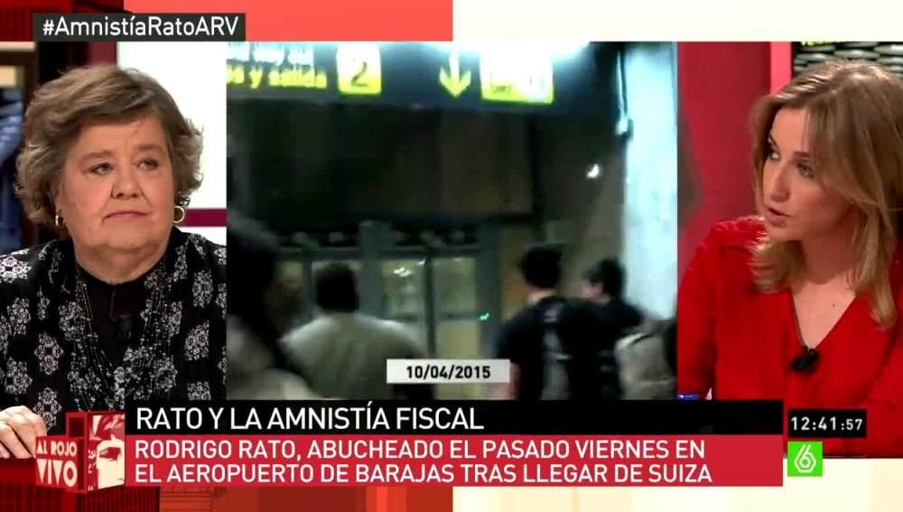 Tania Sánchez habla sobre Rato
