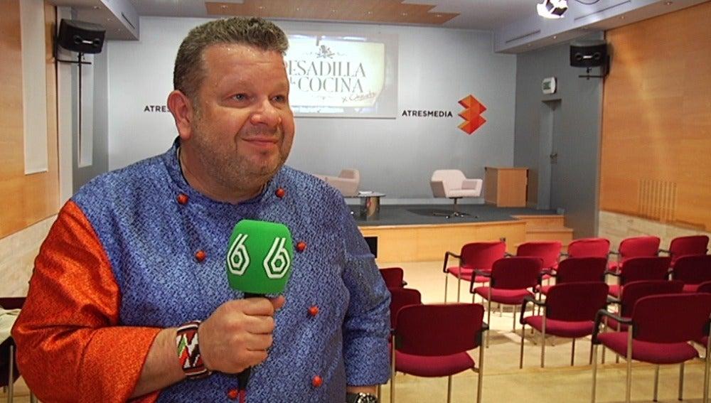 Alberto Chicote habla de la nueva temporada de 'Pesadilla en la cocina'