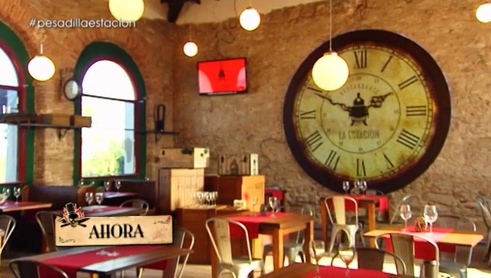 El nuevo restaurante 'La Estación'