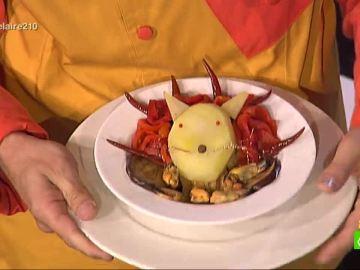 El plato de Berto Chicote