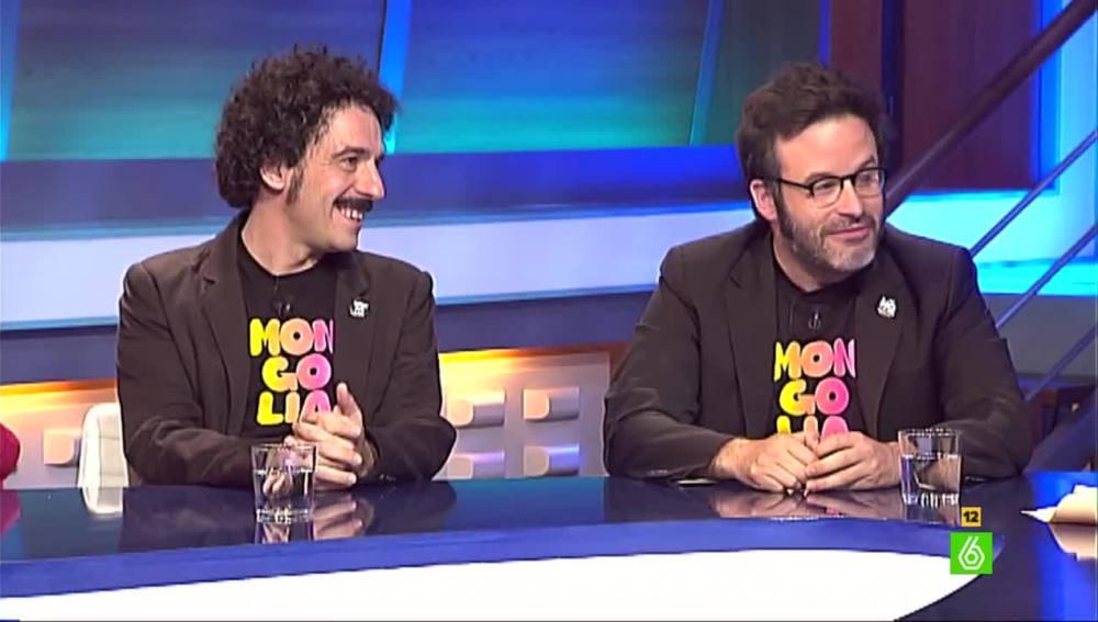 Darío Adanti y Edu Galán