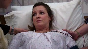 Daisy se pone de parto en mitad de un caso