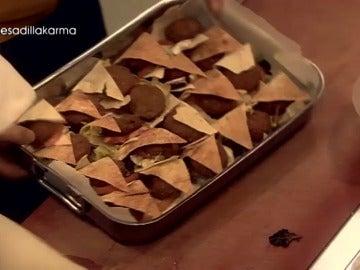 El falafel del Karma