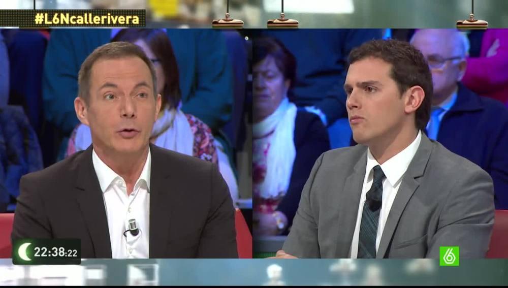 """Albert Rivera: """"Una amnistía fiscal rompe el pacto entre ciudadanos y Estado"""""""