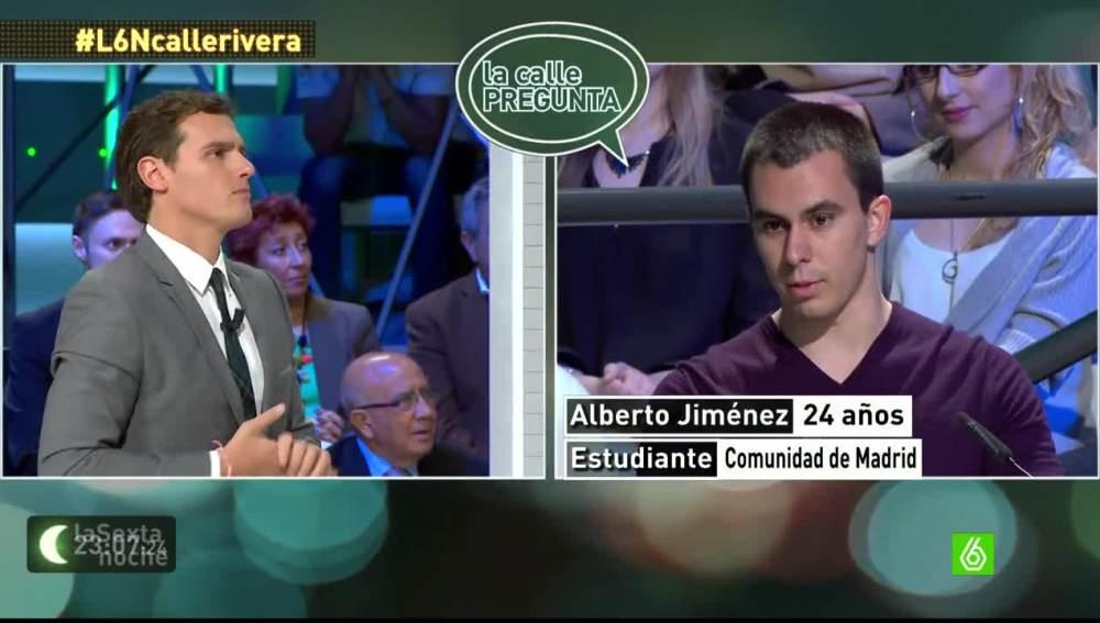 """Albert Rivera: """"Somos una marca limpia, no somos la marca blanca del PP o del PSOE"""""""