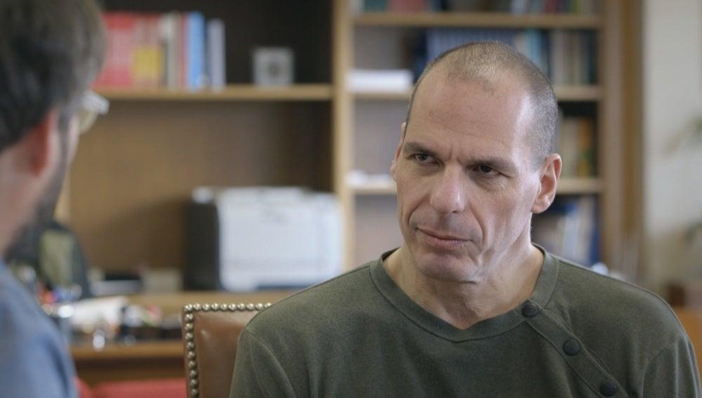 Yanis Varoufakis en 'Salvados'