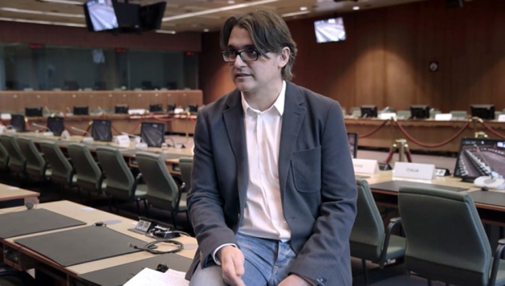 Claudi Pérez, corresponsal de 'El País'