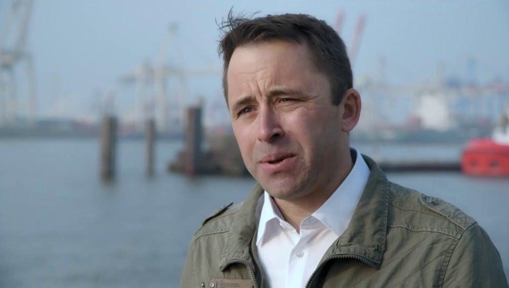 El periodista Markus Böhnisch, en 'Salvados'