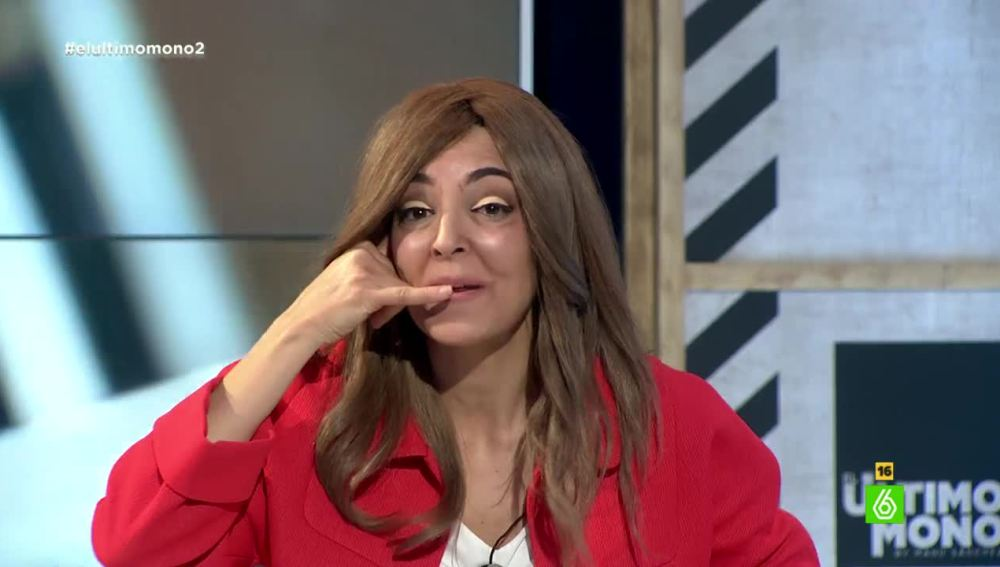 Susana Díaz, en El Último Mono