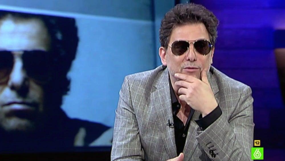 Andrés Calamaro, en 'El Intermedio'