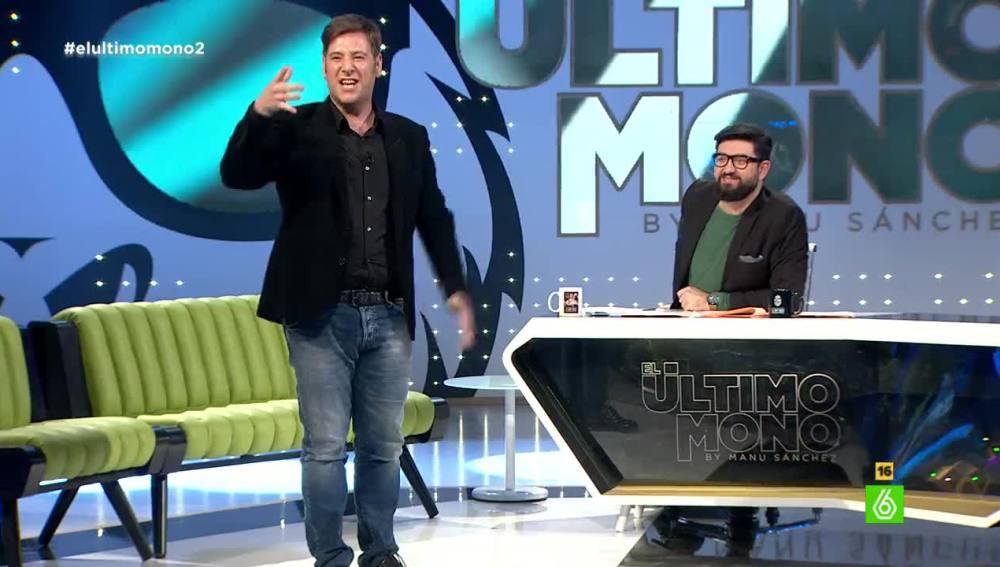 Carlos Latre imita a Manu Sánchez en 'El Último Mono'