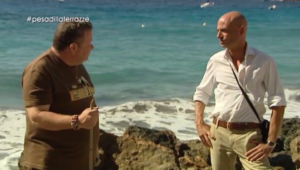 Alberto Chicote le da un ultimátum a Massimo