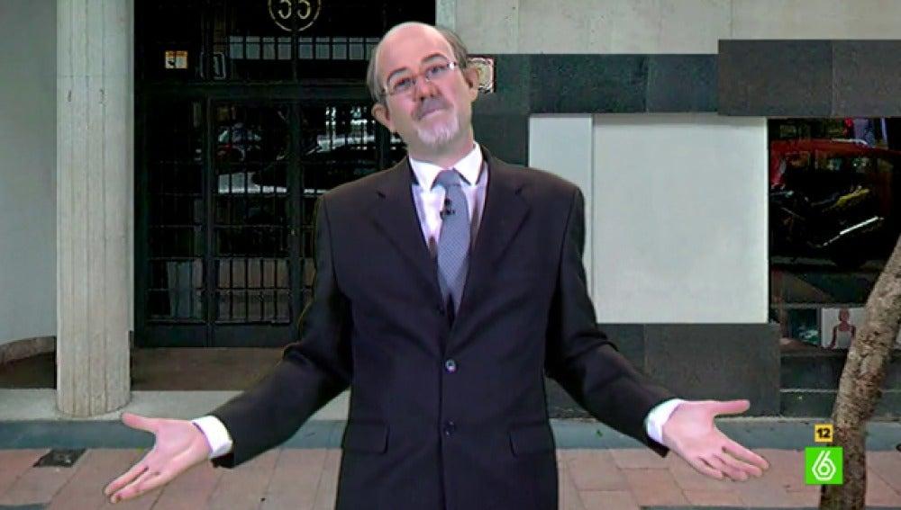 Joaquín Reyes es Rodrigo Rato