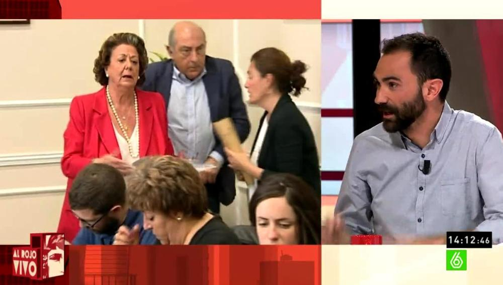 Joaquín Castellón habla sobre Rita Barberá