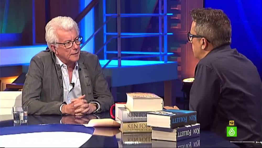 Ken Follet y Andreu Buenafuente