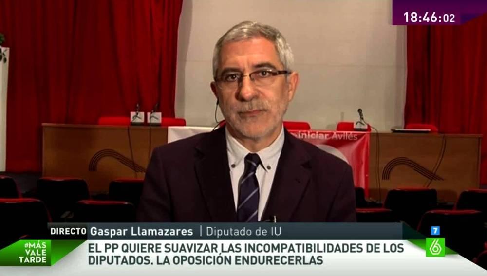 Gaspar Llamazares en MVT