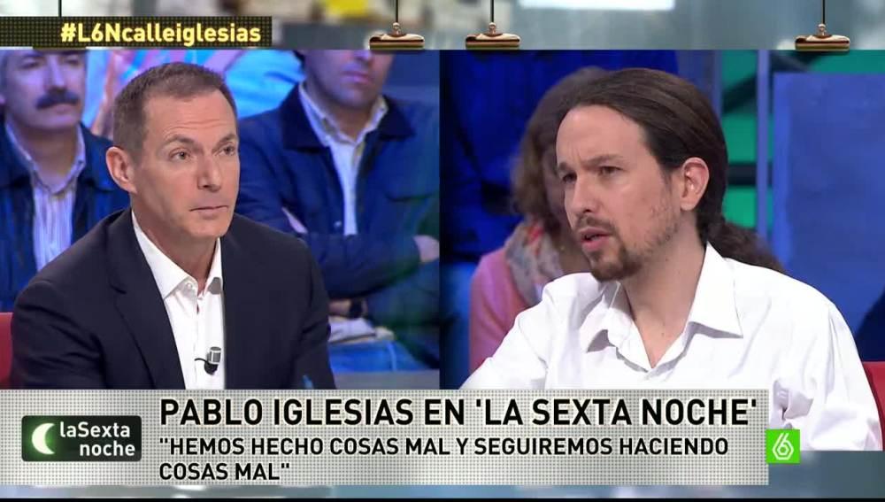 """Pablo Iglesias: """"Seguramente, hemos hecho cosas mal porque somos humanos, pero hemos devuelto la ilusión"""""""