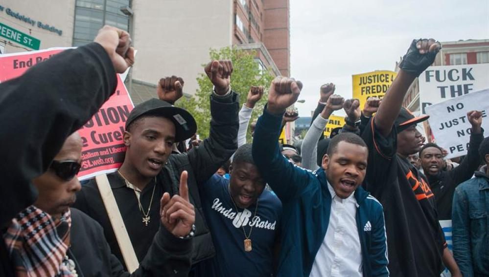 Protestas en Baltimore, Estados Unidos
