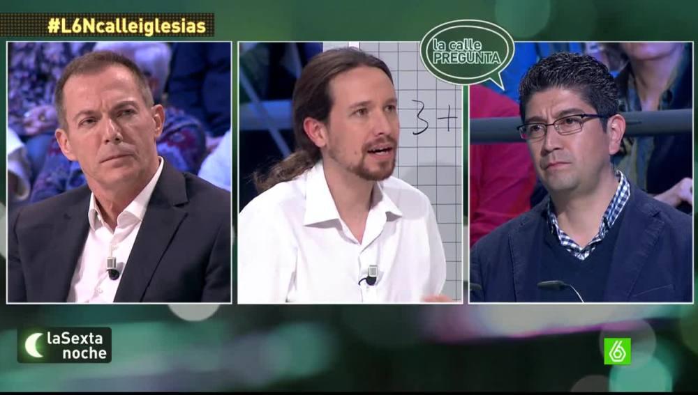"""Pablo Iglesias: """"Cualquier persona que viva en España debe tener derecho a las condiciones mínimas de existencia"""""""