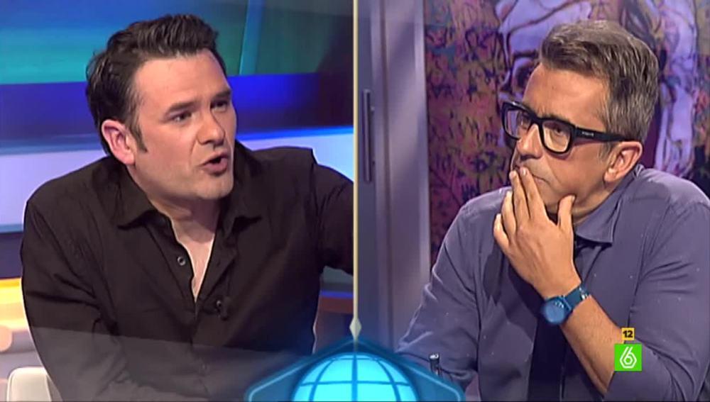 Iñaki López y Andreu Buenafuente
