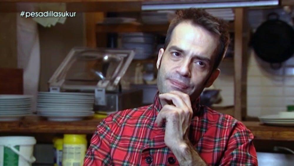 Martínez habla de Chicote en 'Pesadilla en la cocina'