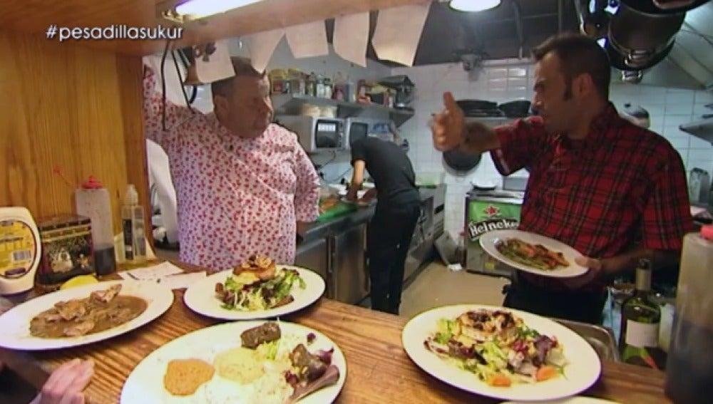 Alberto Chicote pone nervioso a Martínez