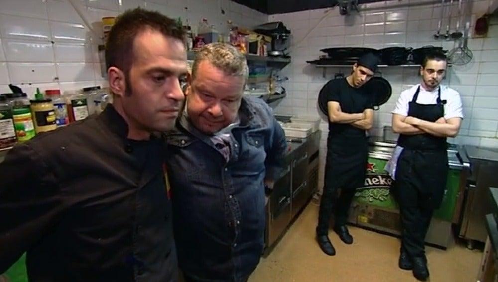 Alberto Chicote ve la sucia cocina del 'Sukur'