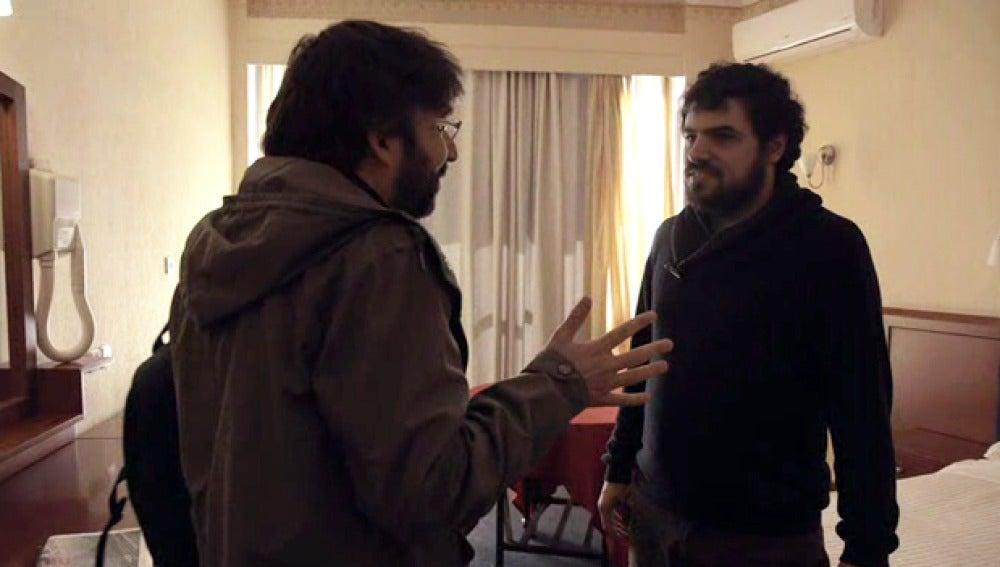 Jordi Évole entrevista a Enric Duran