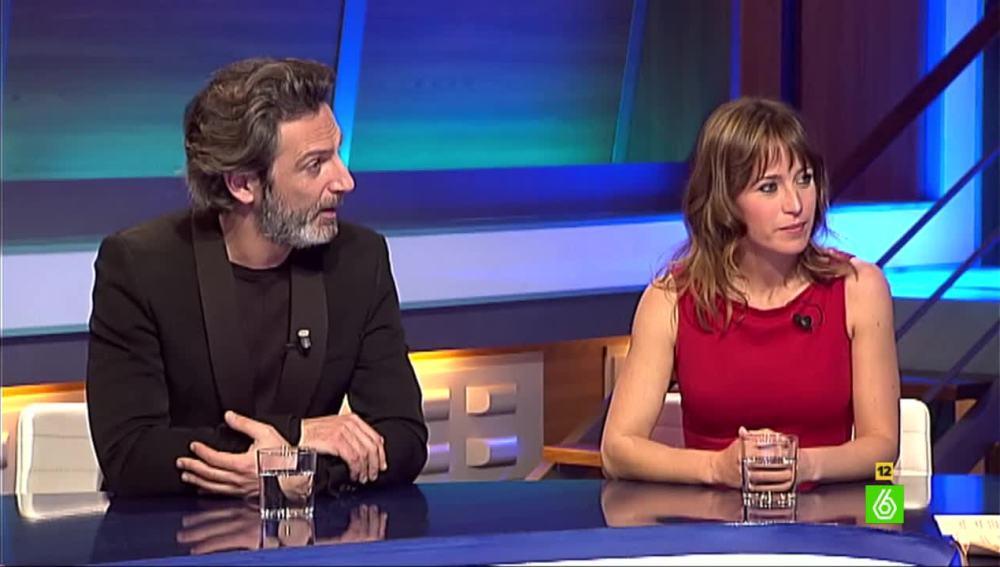 Ernesto Alterio y Marta Etura
