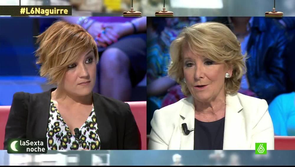 """Esperanza Aguirre: """"A los alcaldes no les nombré yo, todos ellos estaban allí cuando yo llegué"""""""